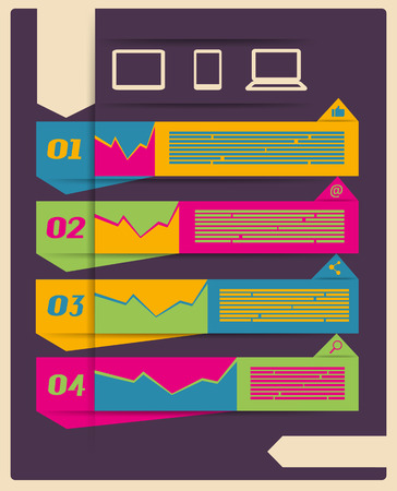 communication infographic illustration Vector