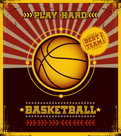 modish: Basketball poster