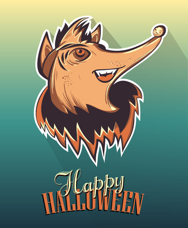 Happy Halloween Poster illustration Vector