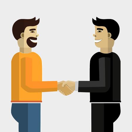 functionality: Business handshake.
