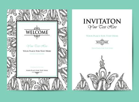 card: Invitation for celebration date