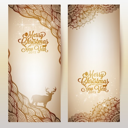spangle: Gold Background with doodle and gold text Illustration