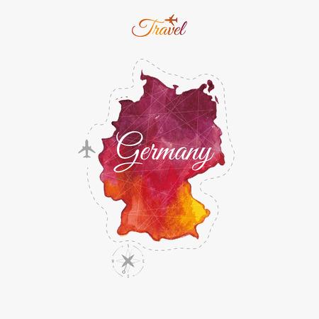 Travel around the  world to Germany.