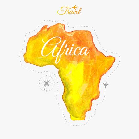 Travel around the  world to Africa.