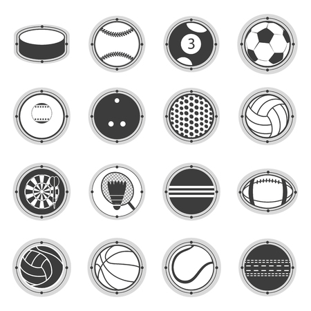 Sports Balls. Football, basketball, golf, volleyball, hockey, american football, tennis billiard baseball bowling cricket croquet badminton darts golf