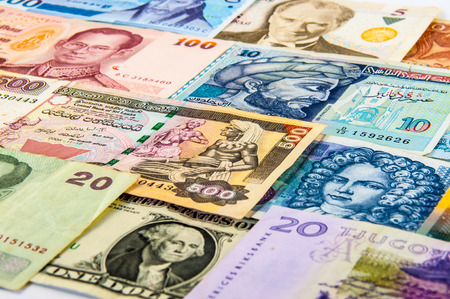 third world economy: The variety of portraits on the banknotes from around the world