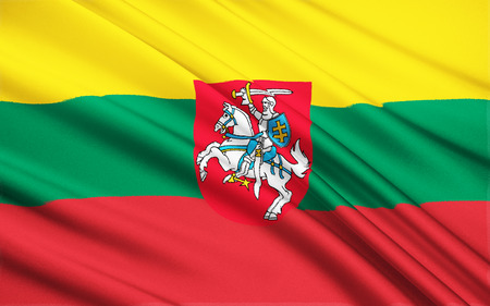 reestablishment: The flag of Lithuania was re-adopted on March 20, 1989, almost two years before the re-establishment of Lithuanias independence following the end of the Soviet Union and the end of the Soviet occupation of 1944-1991.