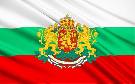 Drapeau de la Bulgarie - adopté après la guerre russo-turque 1877 - 1878, où la Bulgarie a obtenu son indépendance. Le drapeau actuel a été rétabli avec la Constitution de 1991 de la Bulgarie et a été confirmé dans une loi de 1998.