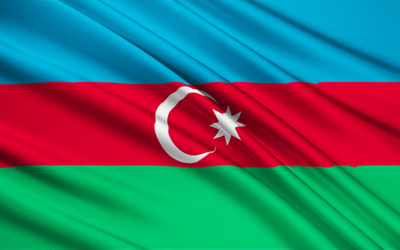 azerbaijanian: Flag of Azerbaijan - This flag was used from November 1918 to 1920, when Azerbaijan was independent, and it was re-adopted on 5th February 1991. The blue symbolises Azerbaijans Turkic heritage, the red stands for progress, and the green represents Islam.
