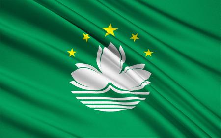 macau: The national flag of Macau