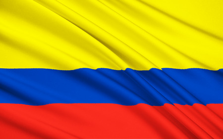 republic of colombia: The national flag of Republic of Colombia, Santa Fe de Bogota
