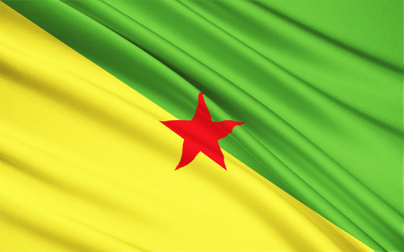 cayenne: The national flag of French Guiana, Cayenne