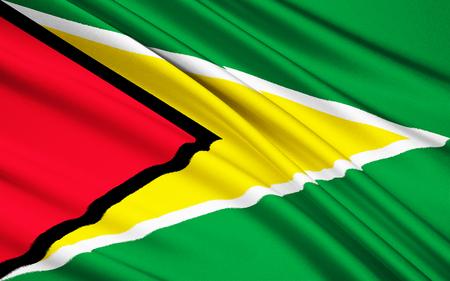 georgetown: The national flag of Guyana, Georgetown