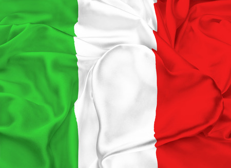 ethnical: The national flag of Italy. I love Italy
