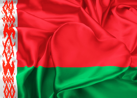 ethnical: The national flag of Belarus. I love Belarus