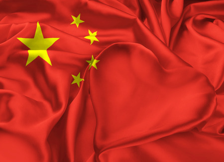 chine: The national Flag of the Peoples Republic of China. I love Chine.