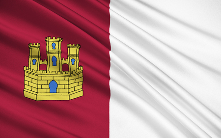 guadalajara: Flag of Castilla-La Mancha is a south-western European region that was part of the Kingdom of Castile. Nowadays it is established as an autonomous community of Spain.