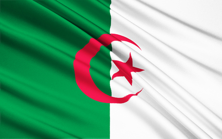 adopted: The national flag of Algeria was adopted on July 3, 1962.