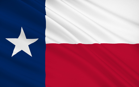 texas state: The national flag of the State of Texas, Austin - United States