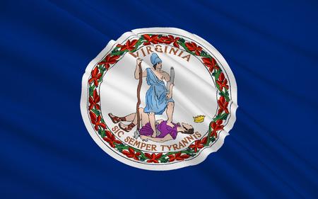 The state flag of Virginia, Richmond - United States Reklamní fotografie