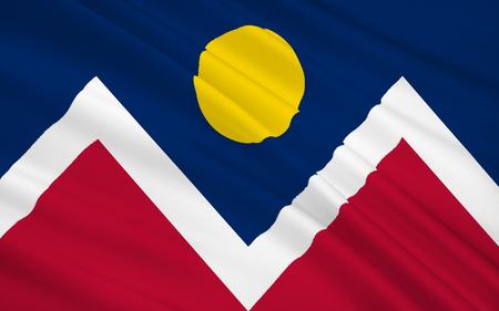 国旗 - デンバーの市と郡のデンバー - 最大の都市、コロラド州の首都