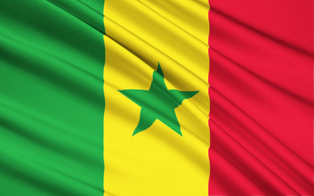 dakar: Flag of Senegal - Adopted in 1960 to replace the flag of the Mali Federation. It has been the flag of the Republic of Senegal since the country gained independence in 1960.