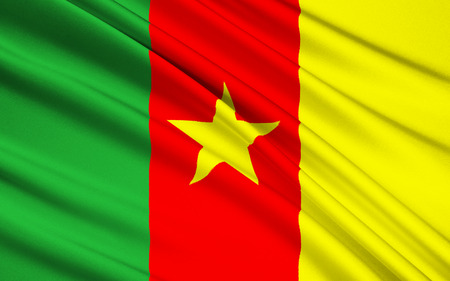 became: Flag of Cameroon - adopted in its present form on 20th May 1975 after Cameroon became a unitary state. The color scheme uses the traditional Pan-African colors.