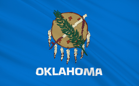 oklahoma city: The national flag of the State of Oklahoma, Oklahoma City - United States
