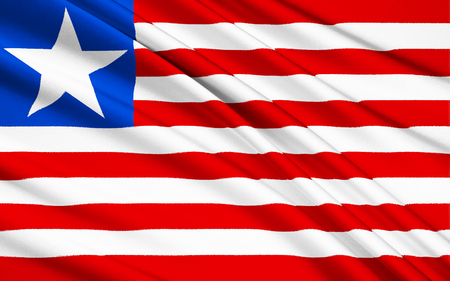 restrictions: Flag of Liberia - adopted on Friday 26th April 1847. The flag is seen on many ships around the world as Liberia offers registration under its flag. Shipping companies do this to avoid taxes and restrictions that other countries enforce. Second most popula
