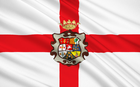 iberian: Flag of Huesca Uesca - a province in the northeast of Spain, in the autonomous community of Aragon. The administrative center - Huesca.