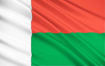 14th: Flag of Madagascar - adopted on 14th October 1958, two years before independence.