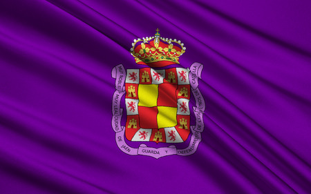 eponymous: Flag of Jaen - city in Spain, the administrative center of the eponymous province of Jaen, in the autonomous community of Andalusia. The municipality is a part of the district comarca Large Jaen.