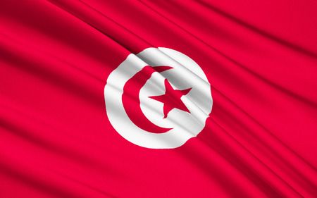 berber: The current official flag of Tunisia dates from 1999. The star and crescent moon recalls the Ottoman flag and is therefore an indication of Tunisias history as a part of the Ottoman Empire.