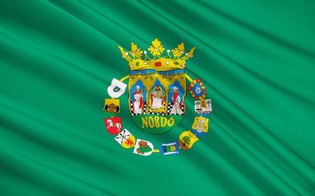 iberian: Flag of Seville - a province in the south-west of Spain in the autonomous community of Andalusia. The administrative center - Sevilla.