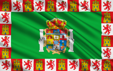cadiz: Flag of Cadiz - the southernmost province of Spain in the autonomous community of Andalusia. Capital - the city of Cadiz.