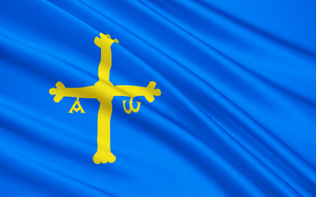 aviles: Flag of Asturias, officially the Principality of Asturias, is an autonomous community in north-west Spain.