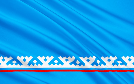 district': The flag subject of the Russian Federation - Yamalo-Nenets Autonomous District, Salekhard, is part of the Tyumen Region, the Urals Federal District