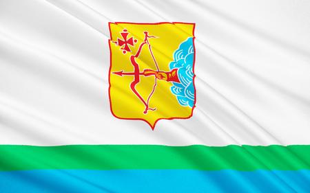 soumis: Le drapeau sujet de la F�d�ration de Russie - Kirov Oblast, Volga District f�d�ral