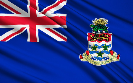 cayman: Flag of the Cayman Islands - Tax Haven