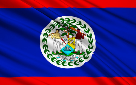 earlier: Flag of Belize - This is a new version of the earlier flag of British Honduras the name of Belize during the British colonial period. Adopted on September 21st 1981.