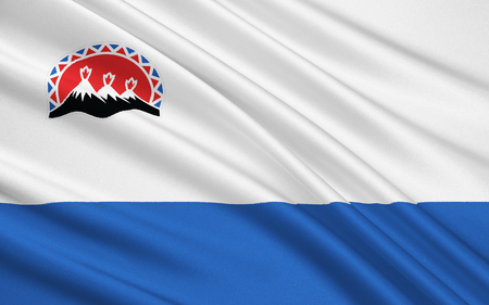 subject: The flag subject of the Russian Federation - Kamchatka region, Petropavlovsk-Kamchatsky, the Far Eastern Federal District