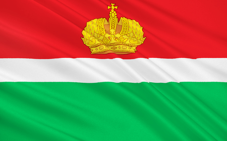 oblast: The flag subject of the Russian Federation - Kaluga Oblast, Central Federal District