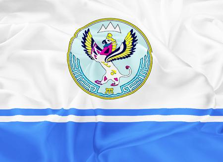 soumis: Le national sous réserve de drapeau de la Fédération de Russie - République de l'Altaï, Gorno-Altaisk