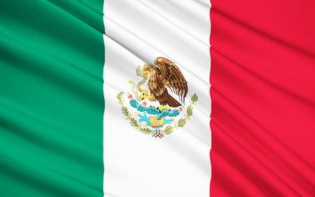 cancun: The national flag of Mexico, was adopted in 1968, although the overall design has been used since 1821, when the First National Flag was created.
