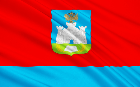 oblast: The flag subject of the Russian Federation - Oryol Oblast, Central Federal District