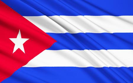 havana: The national flag of Cuba, Havana