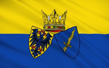 bandera de alemania: Bandera de Essen es una ciudad de Renania del Norte-Westfalia, Alemania.