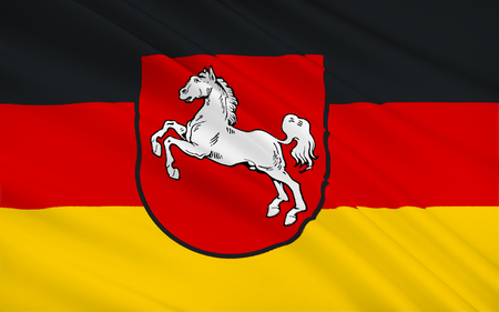 northwestern: Flag of Lower Saxony is a German state situated in northwestern Germany