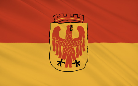 brandenburg: Flag of Potsdam is the capital city of the German federal state of Brandenburg