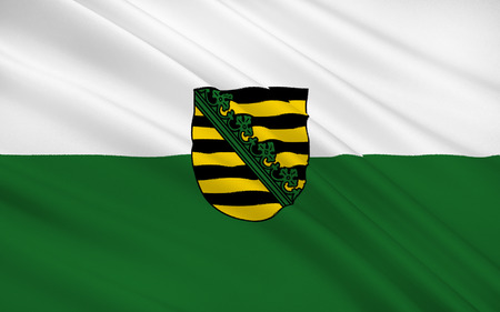 nationalist: Flag of Saxony, Free State of Saxony - as part of the federal state of Germany, located in the east of the country. Capital - the city of Dresden.